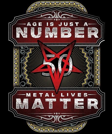 Metalhead Birthday 50 Years