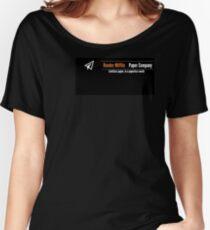 Dunder Mifflin Company Logo Women's Relaxed Fit T-Shirt