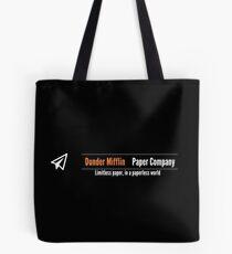 Dunder Mifflin Company Logo Tote Bag