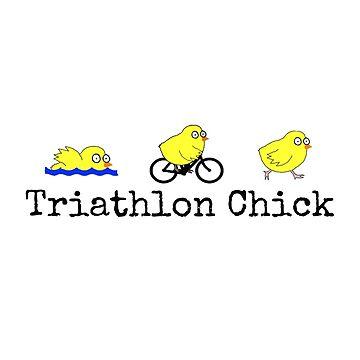 Triathlon Chick by wanungara