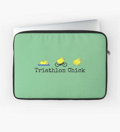 Triathlon Chick Laptop Sleeve