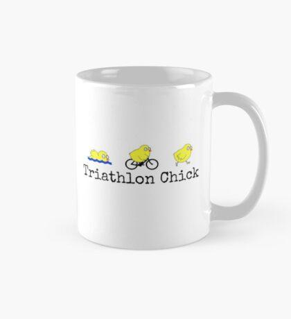 Triathlon Chick Mug