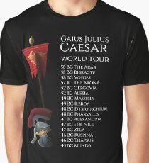 Gaius Julius Caesar World Tour Graphic T-Shirt