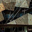 Shapes! Yarra Building. by Barbara Caffell