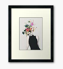 Blumenschönheit Gerahmtes Wandbild