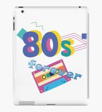 80s forever iPad Case/Skin