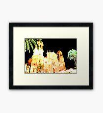 CADIZ - La Catedral Framed Print