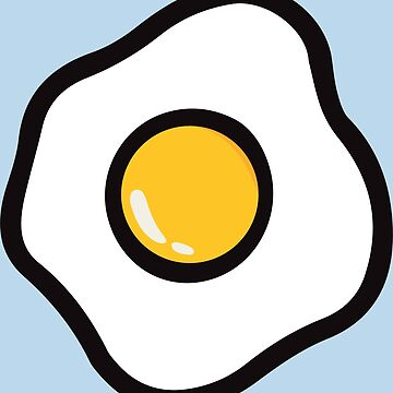 fried chicken egg by Ravens-Style