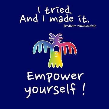 Empower yourself - white/rainbow by chruezness
