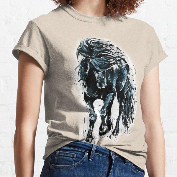 """Cheval """"Perle noire"""" T-shirt classique"""