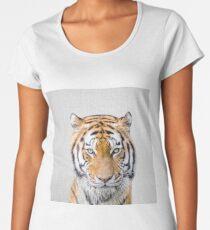 Tiger - Colorful Women's Premium T-Shirt