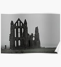 Whitby Abbey Poster