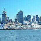Canada Place Vancouver BC Canada by AnnDixon