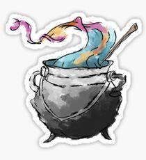 Colourful Cauldron Sticker