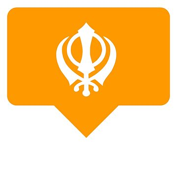 INSTA LIKE KHANDA SIKH LOVE, Sikhism, Punjbai, Desi, Indian, Tshirt by prezziefactory