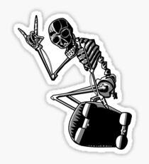 Pegatina Skeleskate!