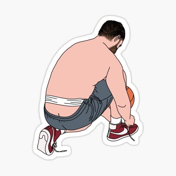 Exposing His Waistband Sticker