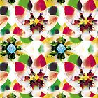 Flower pattern Art 12 by hutofdesigns