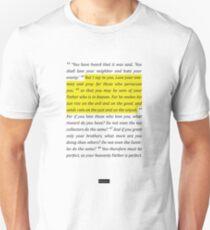 Matthew 5 Unisex T-Shirt