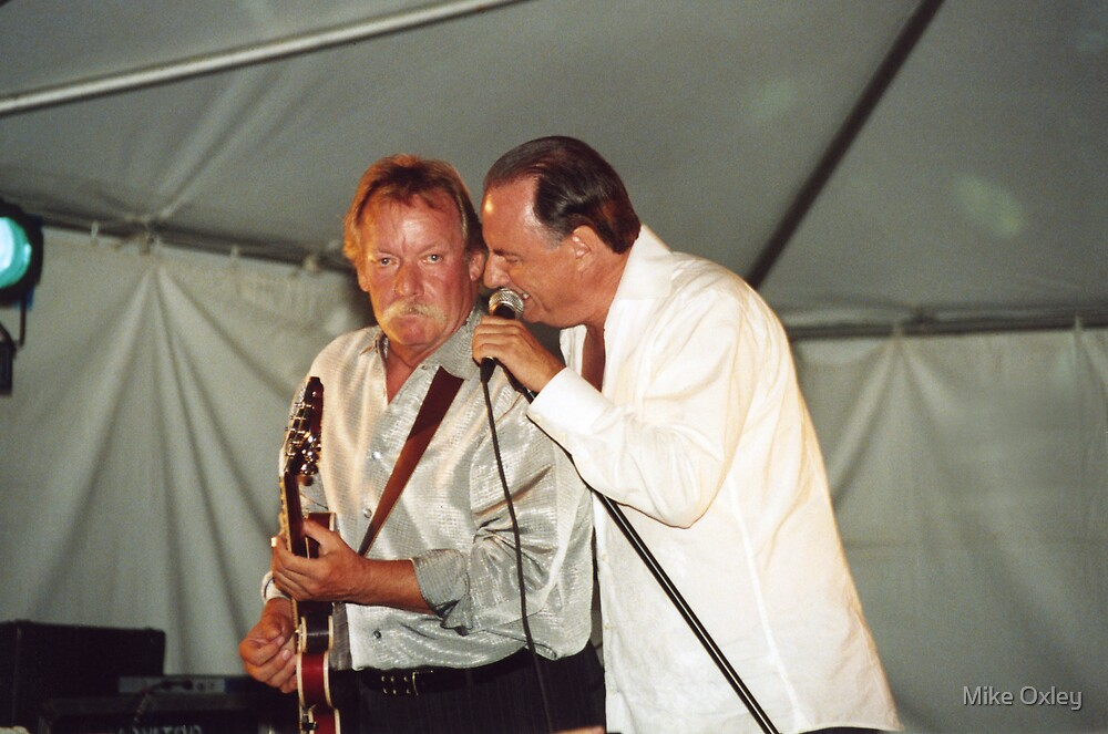 Donnie Walsh and Chuck Jackson, Downchild Blues Band by Mike Oxley