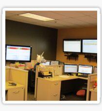 Unicorn in a cubicle #1 - the death of magic Sticker