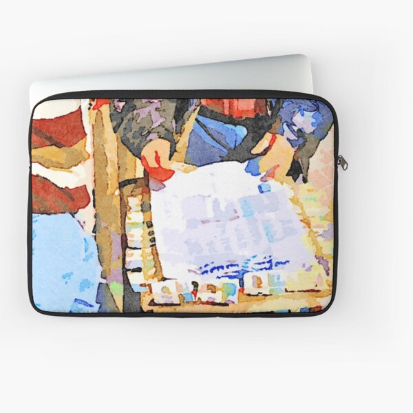 Street players in Aleppo Laptop Sleeve