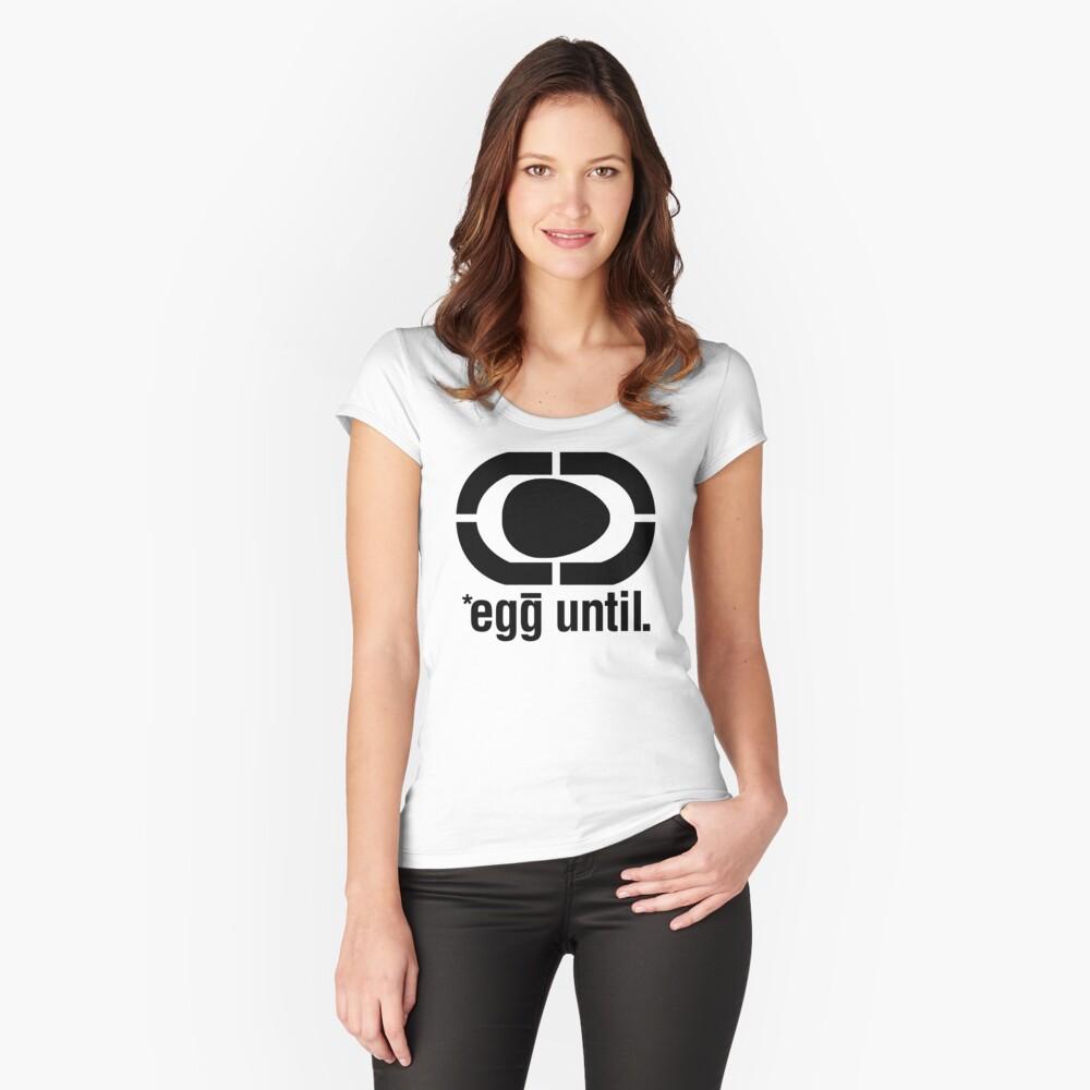 egg unltd Fitted Scoop T-Shirt