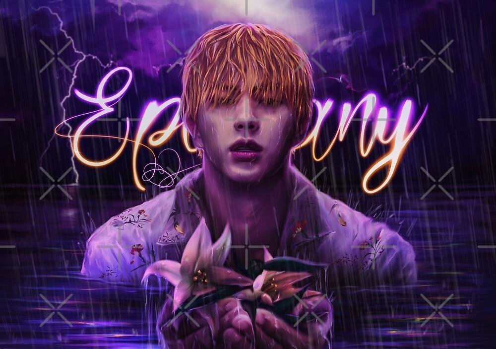 Quot Bts Jin Epiphany Quot By Ellen Drawings Redbubble