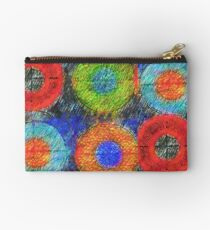 Sketchy Circles Studio Pouch