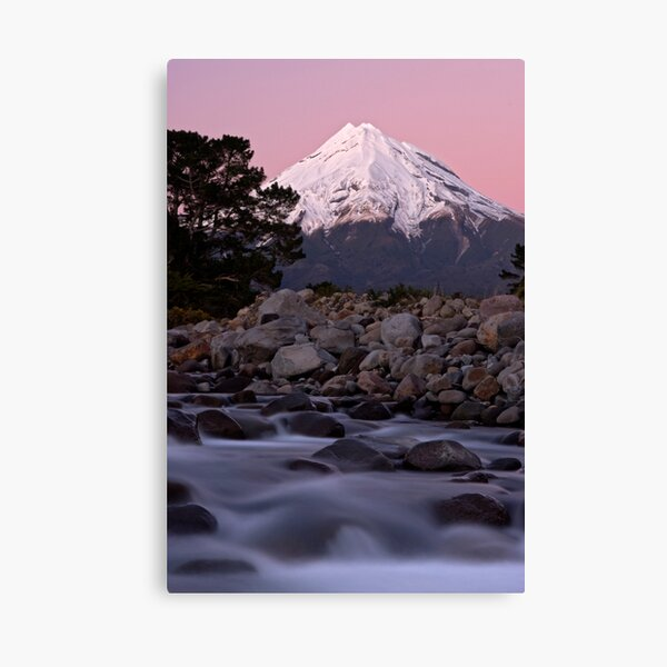 Mt Taranaki. Canvas Print