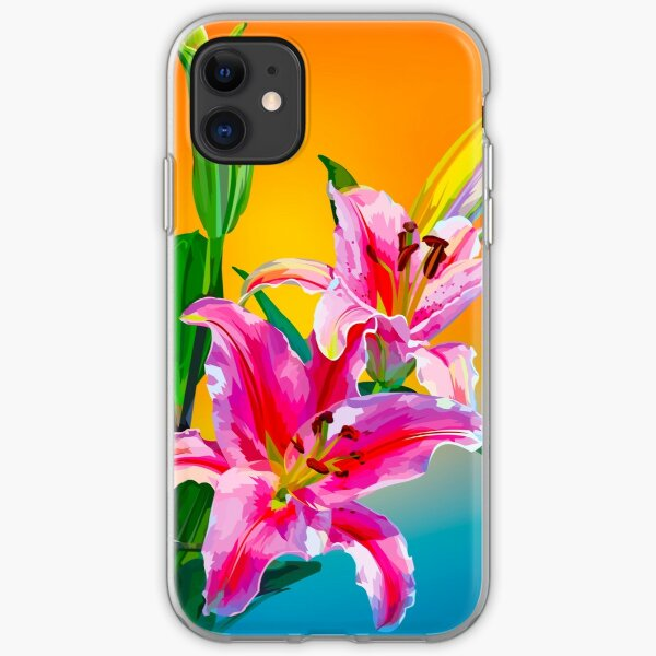 Tropical Floral Fantasy  iPhone Soft Case