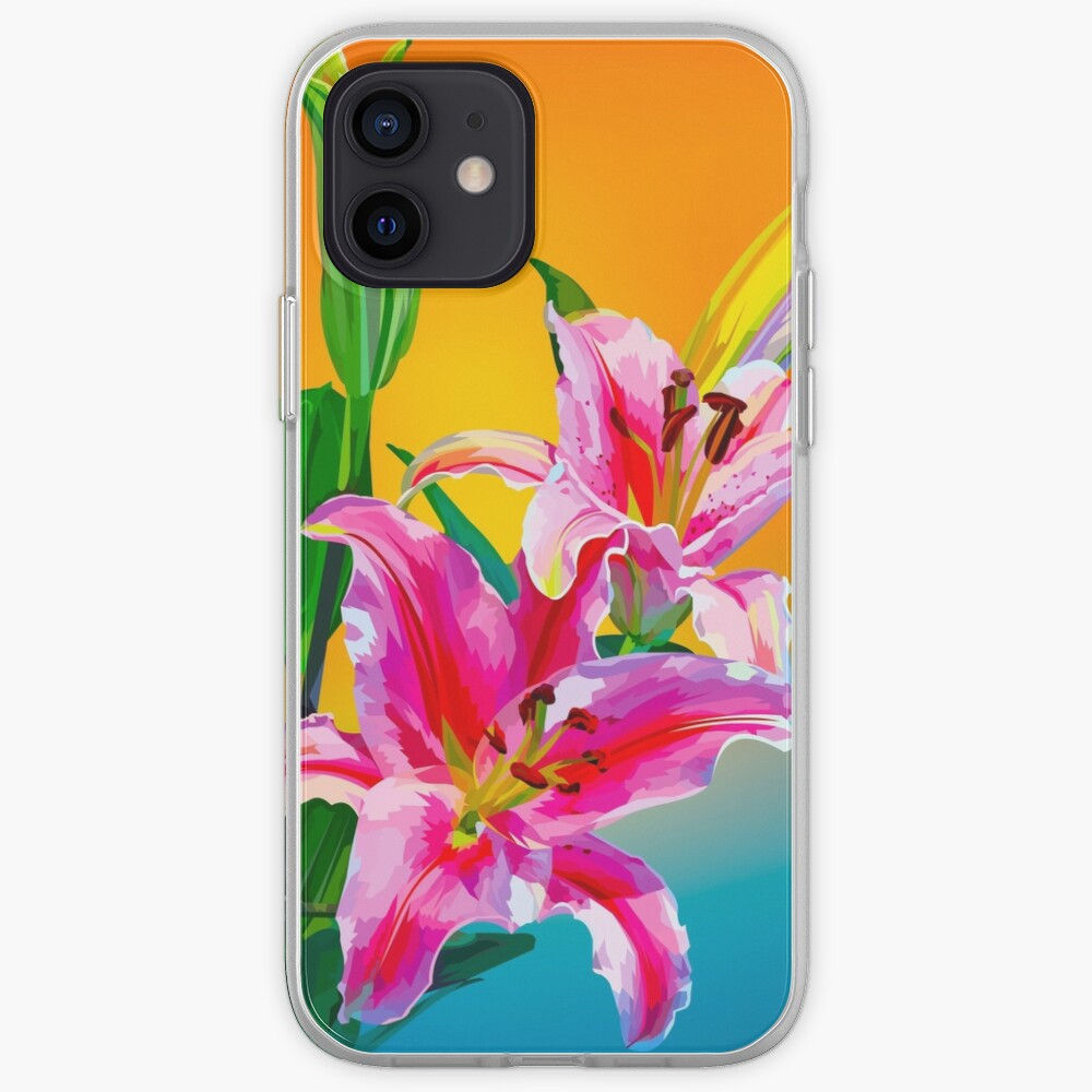 Tropical Floral Fantasy  iPhone Case & Cover