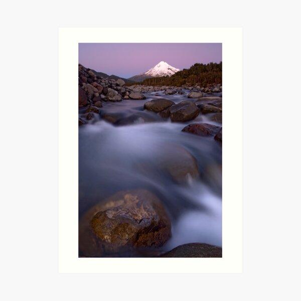 Mt Taranaki. Art Print