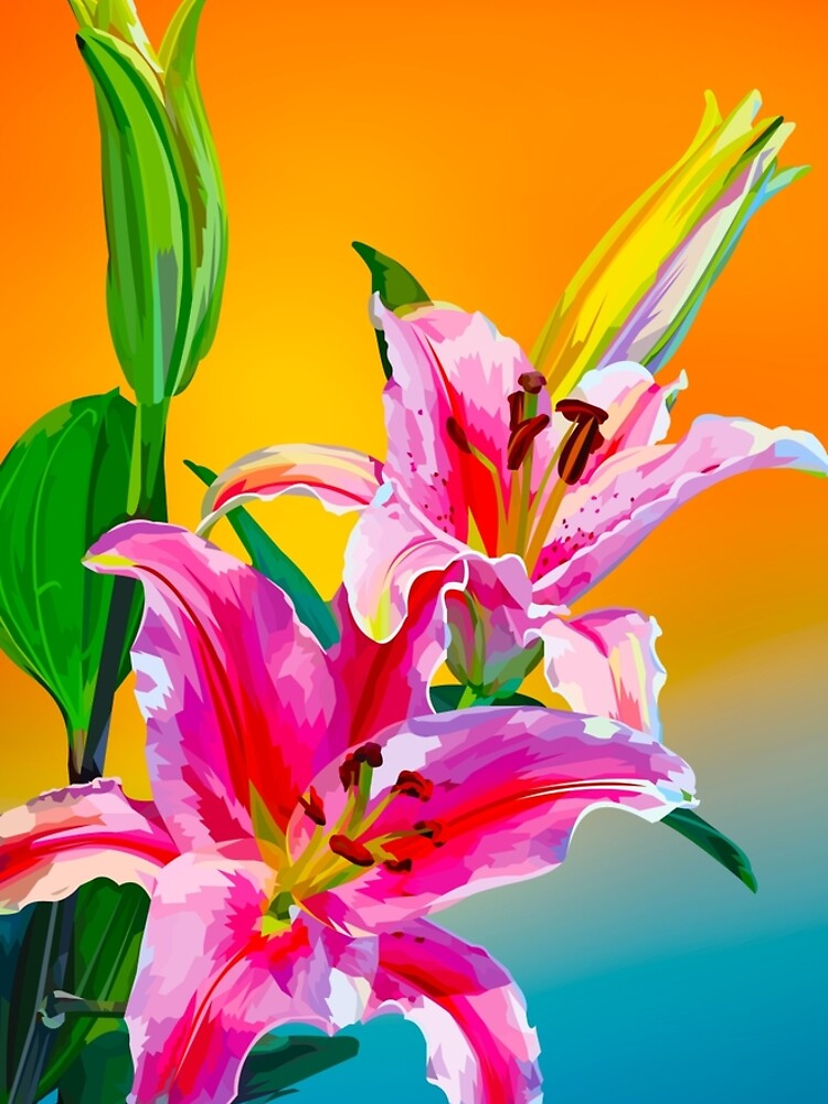 Tropical Floral Fantasy  by Elviranl