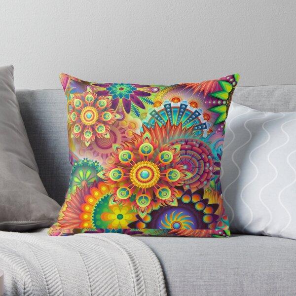 Abstracto colorido Cojín