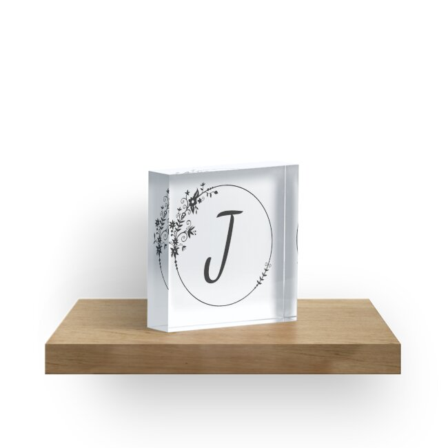 Initial Letter J by DaleSimpson
