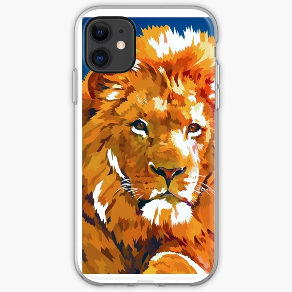 Lions story iPhone Soft Case