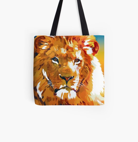 Lions story All Over Print Tote Bag