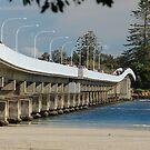 Forster - Tuncurry Bridge NSW Australia by Bev Woodman