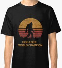 Bigfoot Hide and Seek World Champion Sasquatch Undefeated 2 Classic T-Shirt