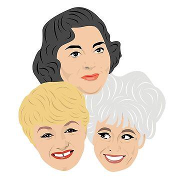 Carry On - Hattie Joan and Barbara by gregs-celeb-art