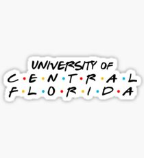 University of Central Florida Friends Sticker