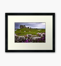 Castle at Clonmacnoise Framed Print