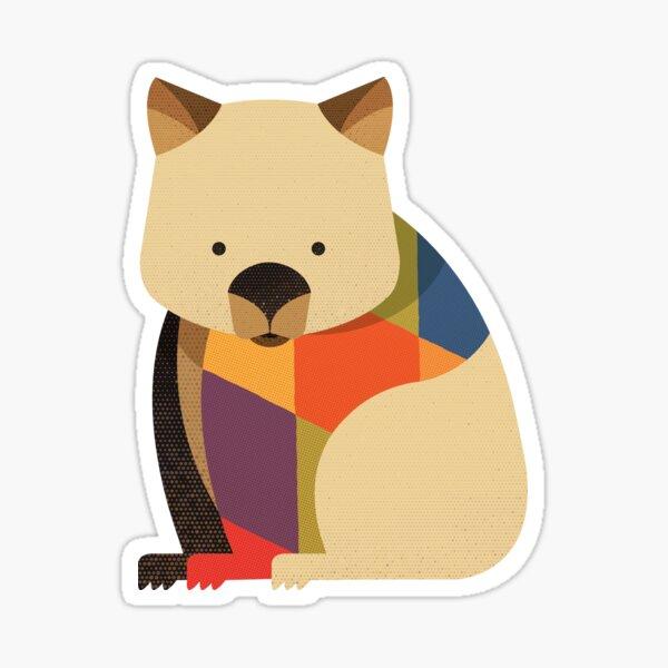 Hello Wombat Sticker