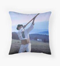 Carpathian Highlander Throw Pillow
