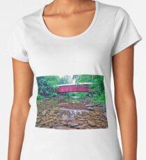 Josiah Hess Bridge No. 122 Premium Scoop T-Shirt