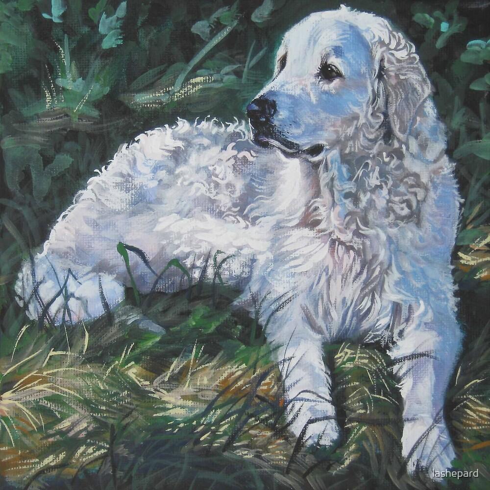 Kuvasz Fine Art Painting by lashepard