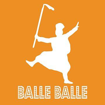 Balle Balle by inkstyl