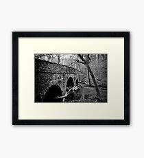 Stone Arch Bridge - Bowman's Hill Framed Print