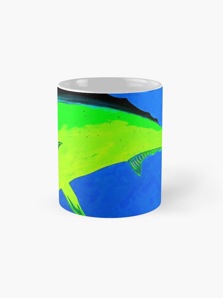 Alternative Ansicht von Von der Finne verankert Tassen